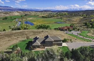 Aerial View 18858 6495 Rd Montrose Colorado 81403 - Atha Team House For Sale