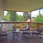 Property for sale porch view 1512 Dover Rd, Montrose, CO 81401- Atha Team