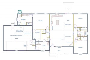Serenity Homes Floor Plan 1727 Galaxy Dr Montrose, CO - Atha Team at Keller Williams