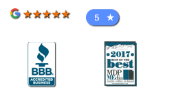 Atha Team Facebook and Google Reviews, Better Business Bureau A+ Rating and Best of the Best Award
