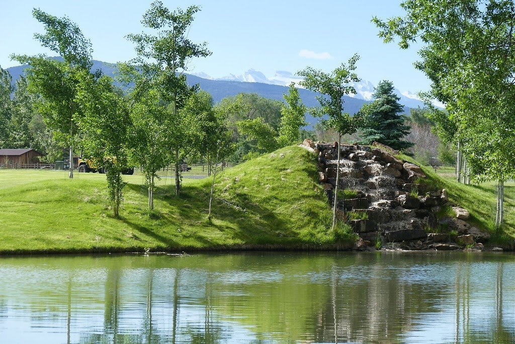 Waterfall and Pond Views - For Sale 68252 Tyler Ln Montrose Colorado 81403