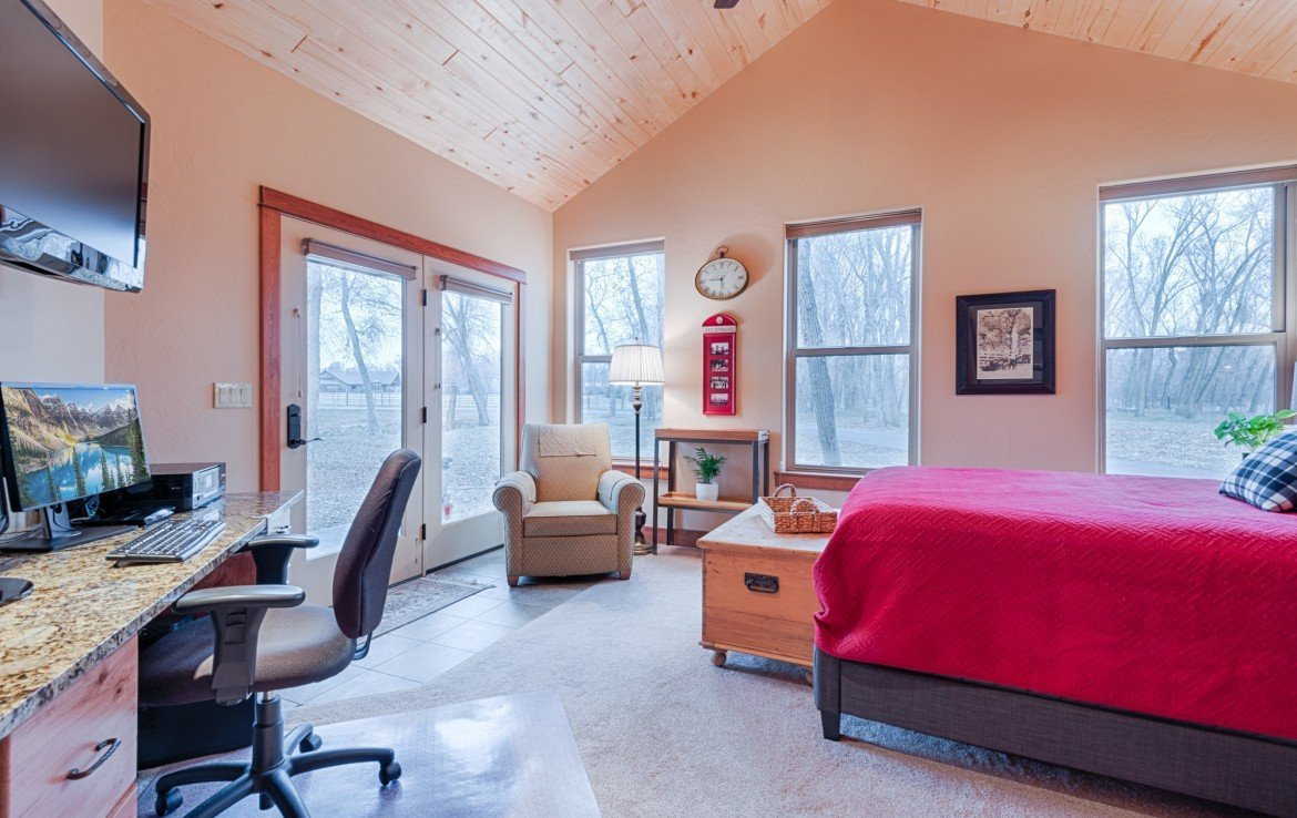 Second Bedroom with French Doors - For Sale 68252 Tyler Ln Montrose Colorado 81403