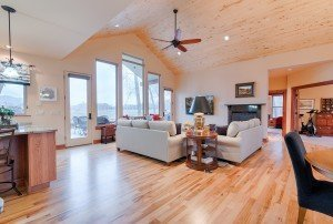 Living Room with Vaulted Ceilings - For Sale 68252 Tyler Ln Montrose Colorado 81403