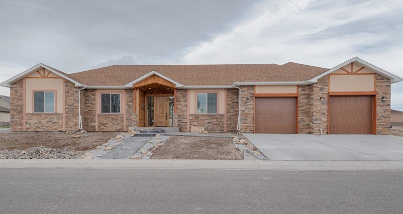 New Construction and Landscaping in Progress - 3407 Ridgeline Dr Montrose, CO 81401