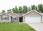Front View with Paved Driveway - 1023 Deer Trail Montrose Real Estate - Atha Team