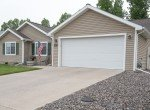 Front View with 2 Car Garage with Keypad Entry - 1023 Deer Trail Montrose Real Estate - Atha Team