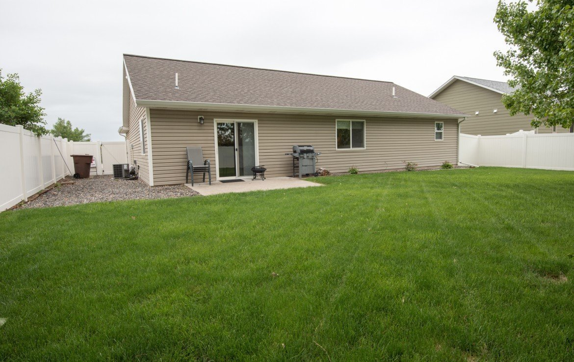 Rear View with Patio - 1023 Deer Trail Montrose Real Estate - Atha Team