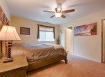Master Bedroom with Ceiling Fan - 1023 Deer Trail Montrose Real Estate - Atha Team