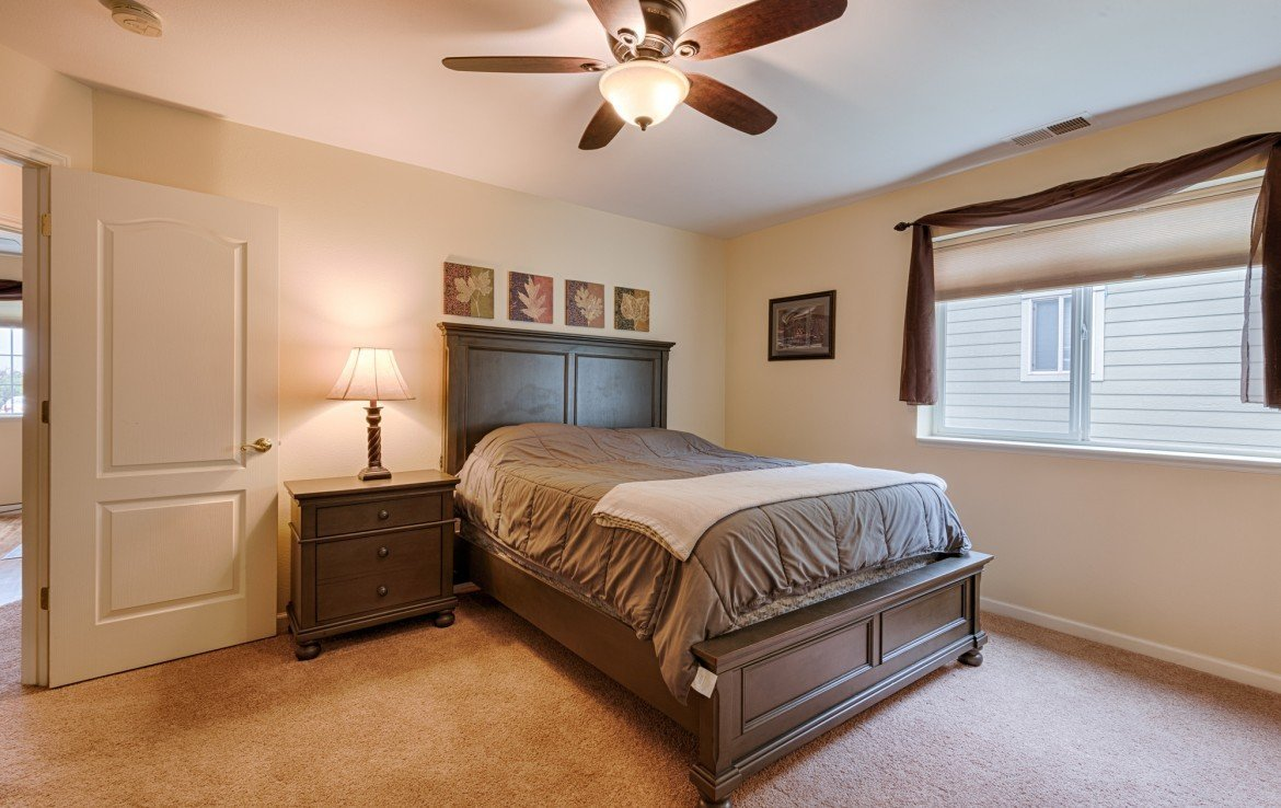 Master Bedroom with New Carpet - 1023 Deer Trail Montrose Real Estate - Atha Team