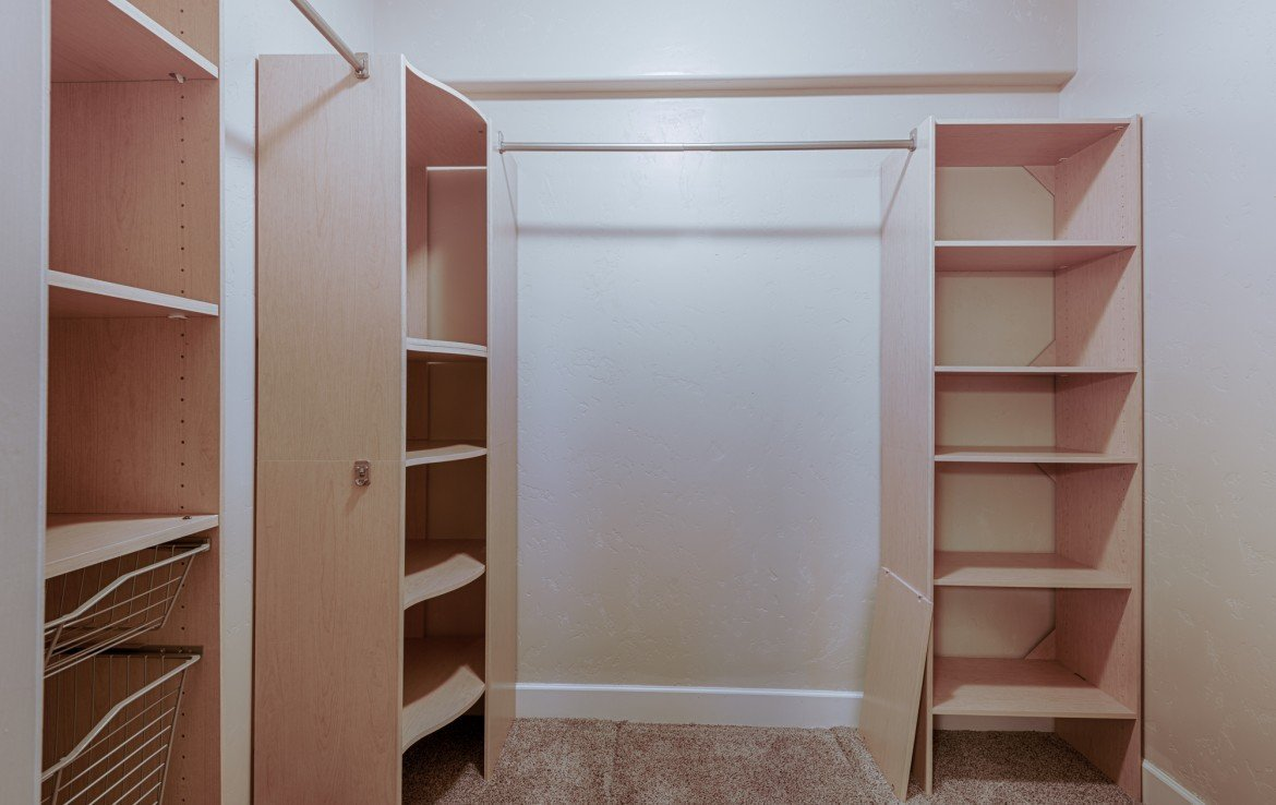 Master Bedroom Walk In Closet - 1828 Senate St Montrose, CO 81401 - Atha Team Real Estate