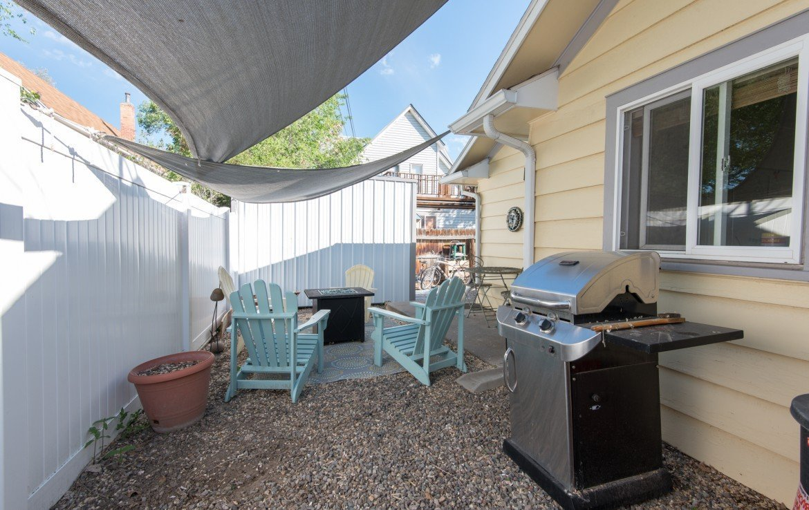 Fenced Patio Barbeque Area - 21 N Junction Ave Montrose, CO 81401