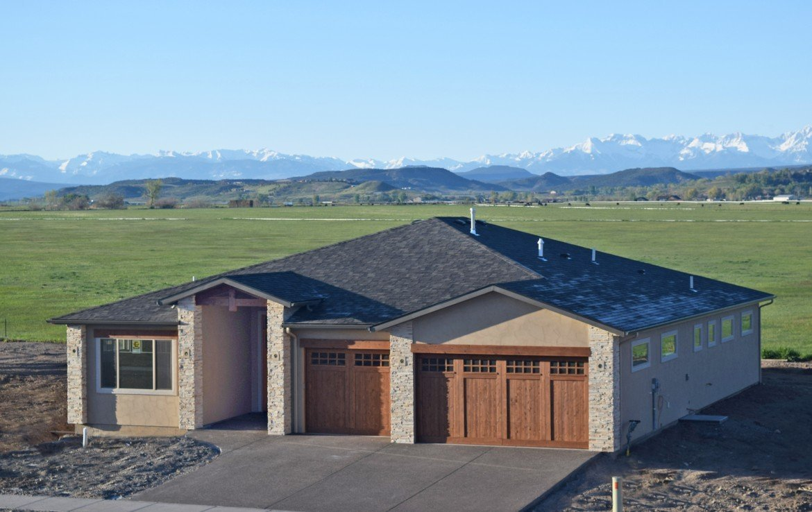 Cobble Creek House for Sale with Unobstructed Mountain Views -926 San Sophia Dr Montrose CO 81403 - Atha Team Realtors