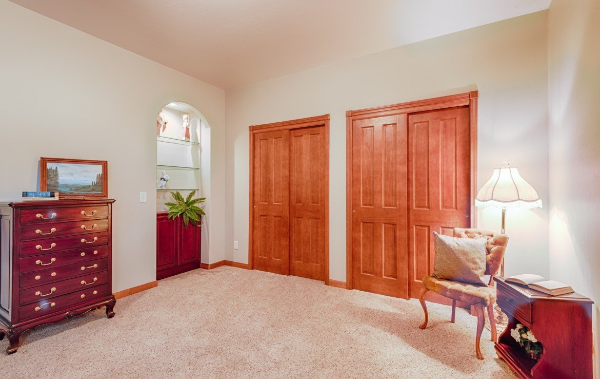 Additional Bedroom with Double Closets - 555 Collins Way Montrose, CO. 81403 - Atha Team at Keller Williams