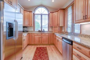 Kitchen with Appliances - 555 Collins Way Montrose, CO. 81403 - Atha Team at Keller Williams