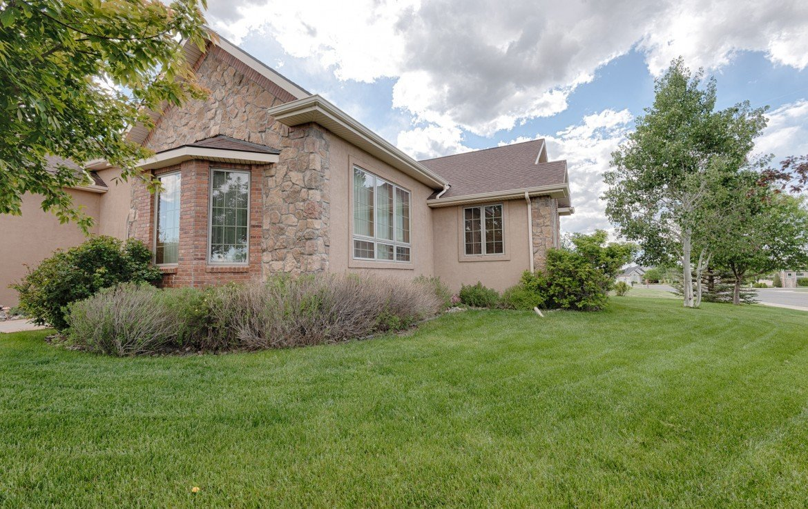 Home for Sale with Landscaping - 555 Collins Way Montrose, CO. 81403 - Atha Team at Keller Williams