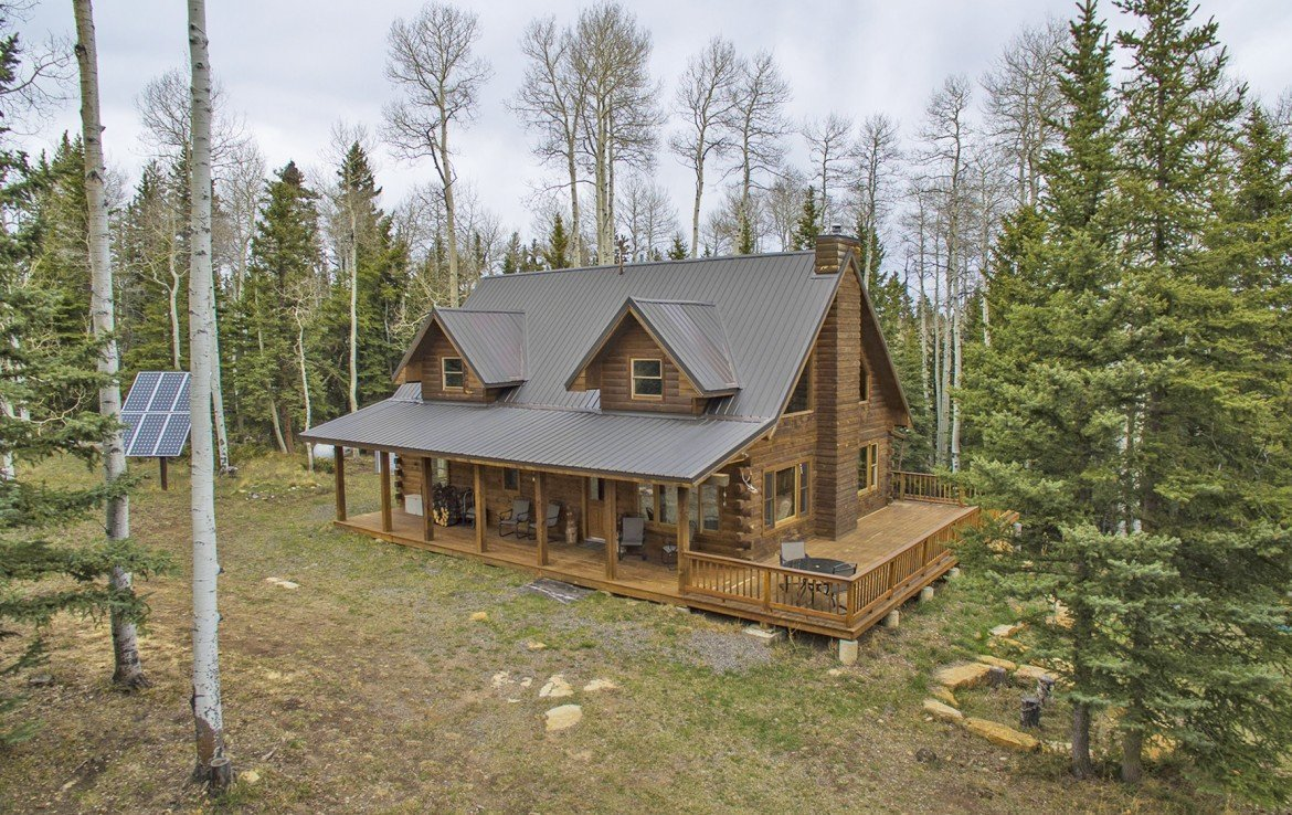Mountain Log Cabin A Frame with Acreage for Sale - 58002 Elk Dr Montrose, CO 81403 - Atha Team Realty