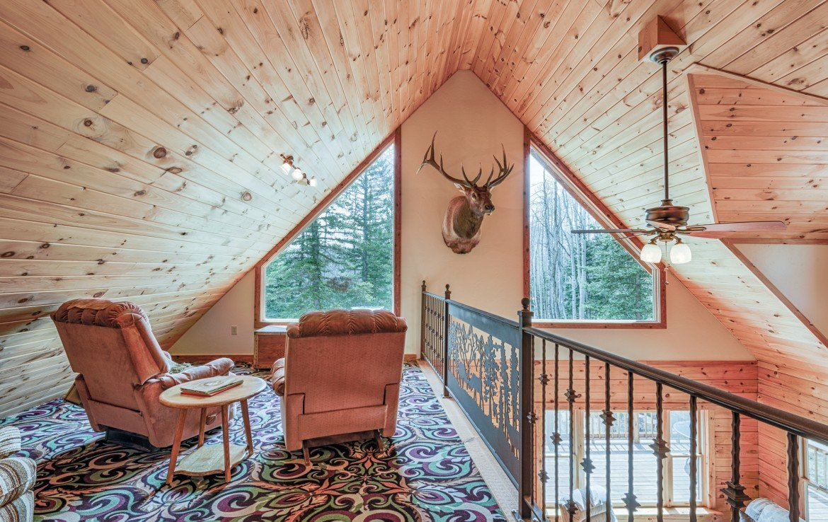 Loft Area Game Room with Views - 58002 Elk Dr Montrose, CO 81403 - Atha Team Realty