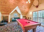 Loft Area Game Room with Pool Table - 58002 Elk Dr Montrose, CO 81403 - Atha Team Realty