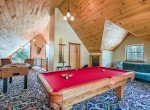 Loft Area with Pool Table - 58002 Elk Dr Montrose, CO 81403 - Atha Team Realty