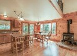 Wood Flooring and Fireplace - 58002 Elk Dr Montrose, CO 81403 - Atha Team Realty