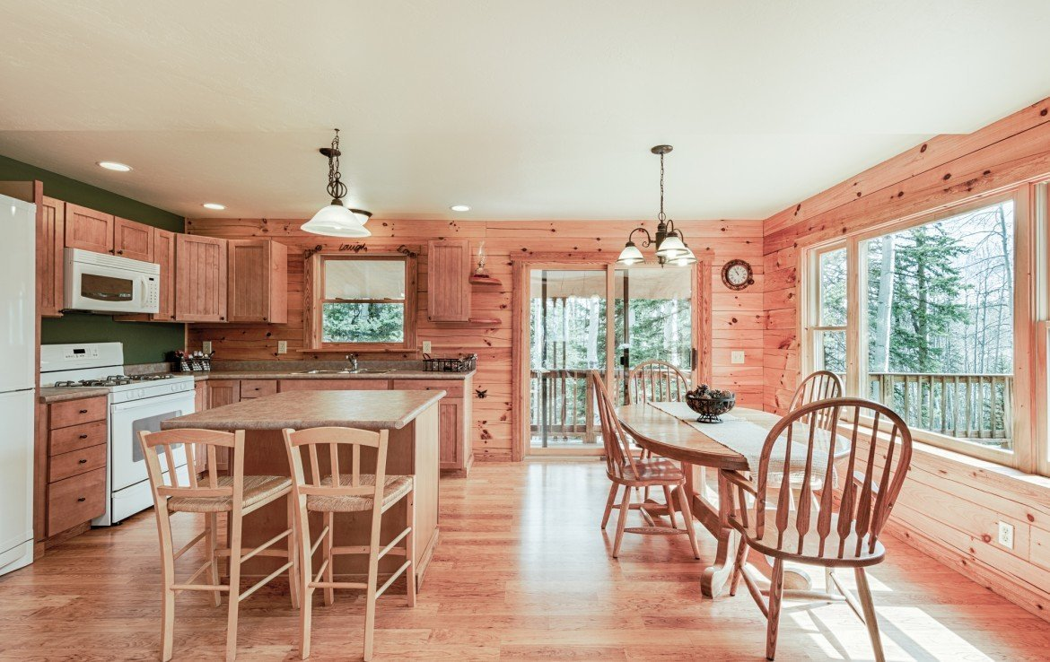 Open Concept Floor Plan with Kitchen Dining - 58002 Elk Dr Montrose, CO 81403 - Atha Team Realty