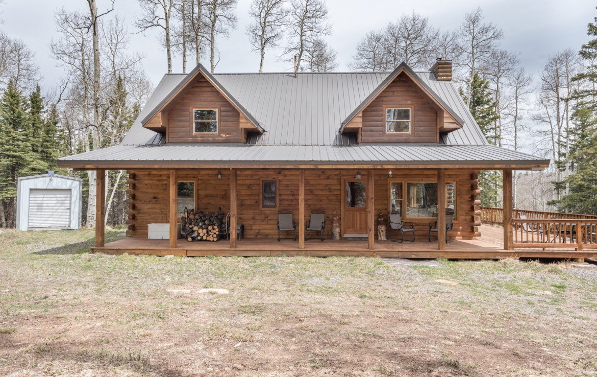 Solar Powered Cabin with Mountain Views - 58002 Elk Dr Montrose, CO 81403 - Atha Team Realty