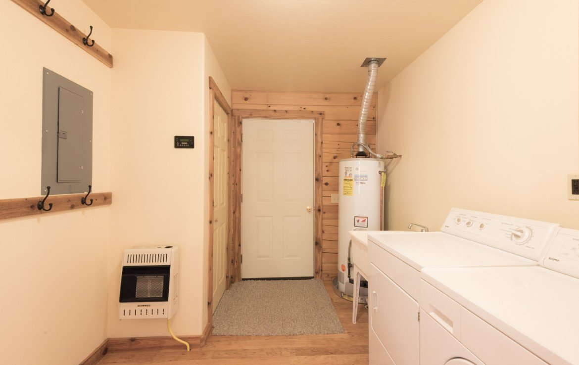 Laundry Room with Washer and Dryer - 58002 Elk Dr Montrose, CO 81403 - Atha Team Realty