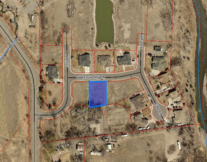 Google Aerial Map - Lot 28 Lake Shore Dr Montrose, CO 81403 - Atha Team Real Estate Agents
