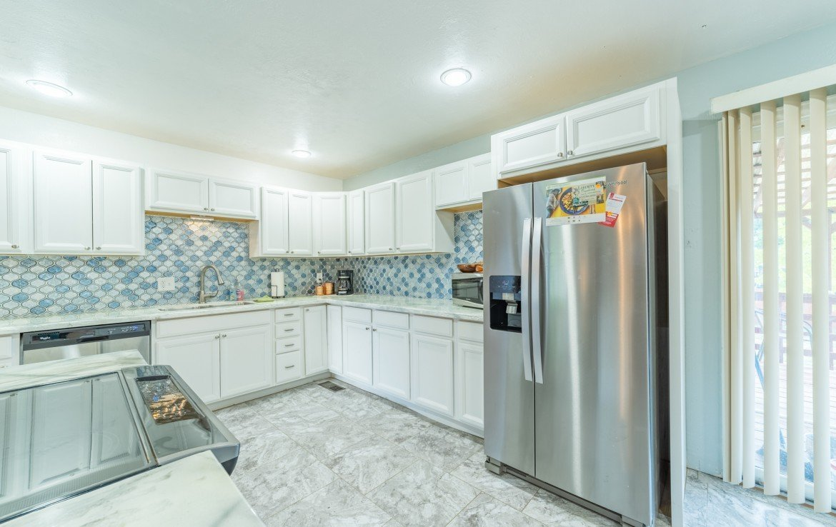 Remodeled Kitchen with Appliances - 310 Pine View Dr Montrose, CO 81401