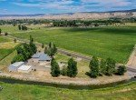 Aerial View Northeast Facing - 21561 Government Springs Rd Montrose, CO - Atha Team Realty