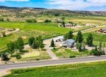 Aerial View Northwest Facing - 21561 Government Springs Rd Montrose, CO - Atha Team Realty