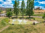 Irrigation Fed 9' Deep Pond - 21561 Government Springs Rd Montrose, CO - Atha Team Realty
