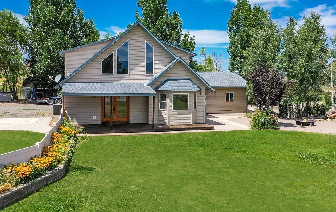 Home on 2 Irrigated Acres with Equestrian Fencing - 21561 Government Springs Rd Montrose, CO - Atha Team Realty