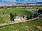 Aerial View of Irrigation Canal - 21561 Government Springs Rd Montrose, CO - Atha Team Realty
