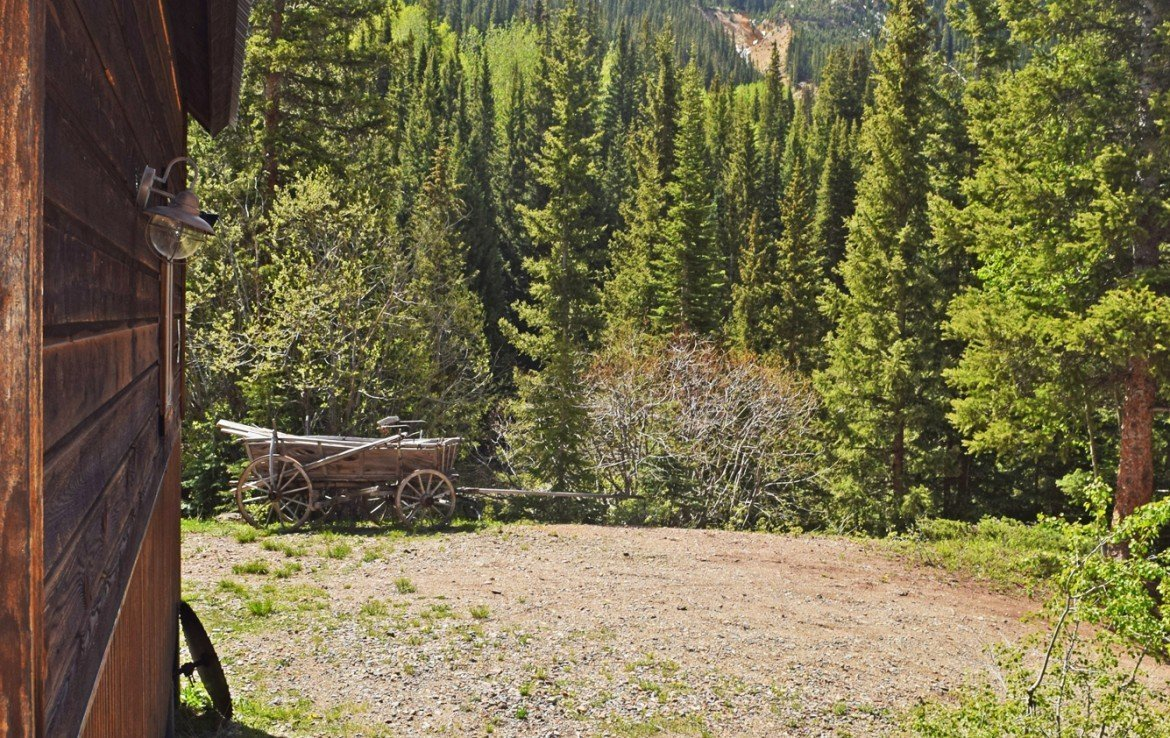Mountain Cabin with 7+ Acres - 477 County Road 31 Ouray, CO 81427 - Atha Team Real Estate