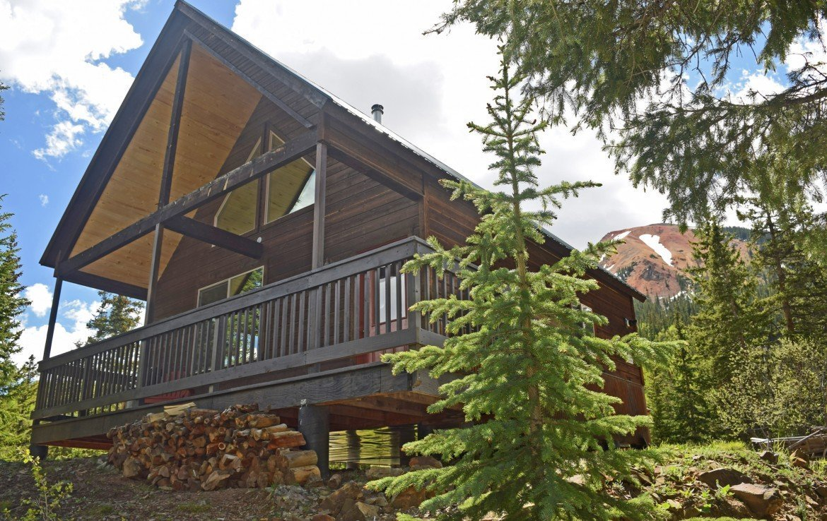 Mountain Cabin with 7+ Acres for Sale - 477 County Road 31 Ouray, CO 81427 - Atha Team Real Estate