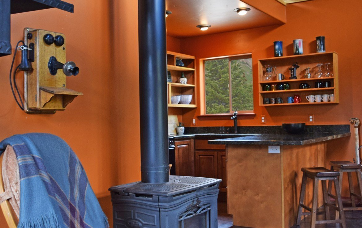 Cabin with Wood Stove - 477 County Road 31 Ouray, CO 81427 - Atha Team Real Estate
