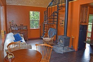 Ouray Cabin with Spiral Staircase - 477 County Road 31 Ouray, CO 81427 - Atha Team Real Estate