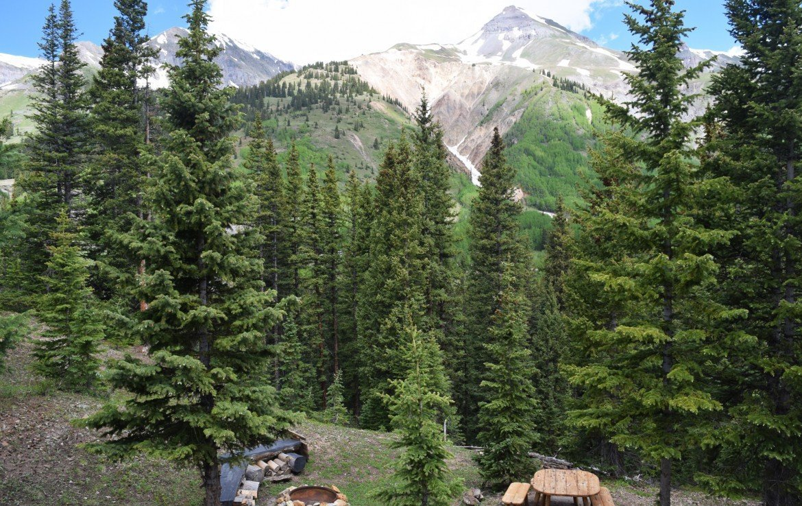 Ouray Cabin with Firepit and Furniture - 477 County Road 31 Ouray, CO 81427 - Atha Team Real Estate