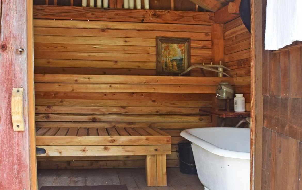 Ouray Cabin with Bathhouse - 477 County Road 31 Ouray, CO 81427 - Atha Team Real Estate