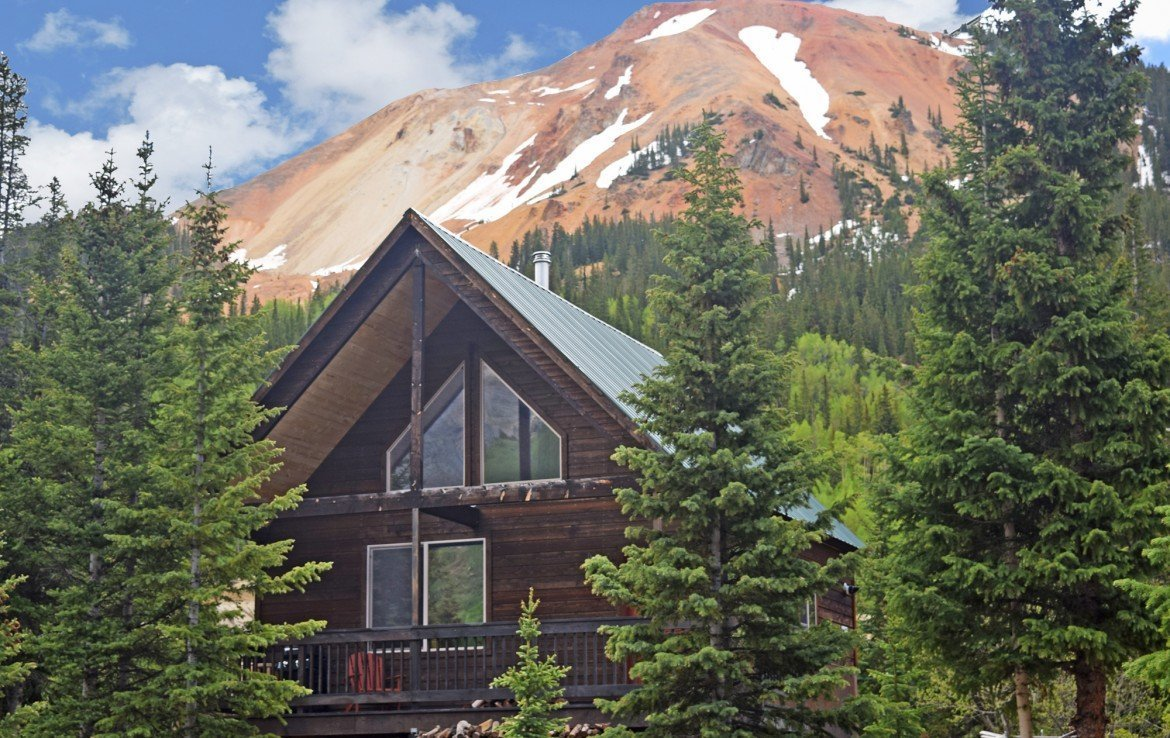 Ouray Colorado Cabin for Sale - 477 County Road 31 Ouray, CO 81427 - Atha Team Real Estate