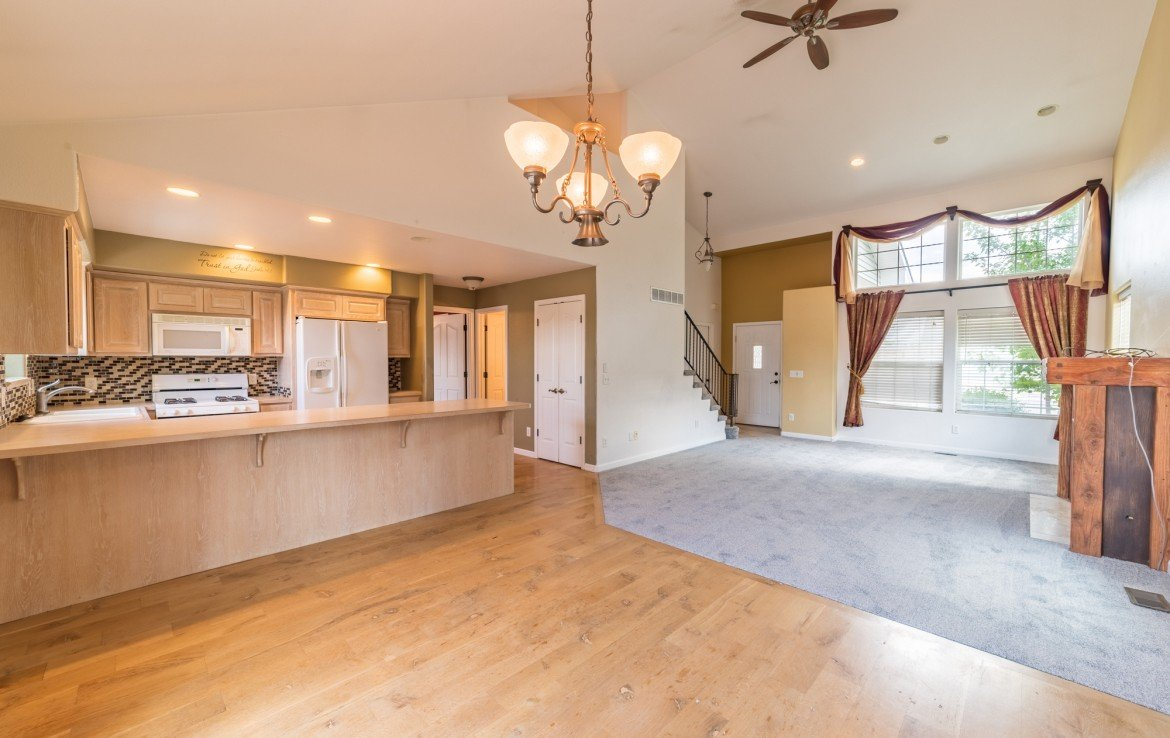 Dining Room with Hardwood Flooring - 2051 Cherry St Montrose, CO - Atha Team Real Estate Agents