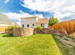 Back Yard with Landscaping - 2051 Cherry St Montrose, CO - Atha Team Real Estate Agents