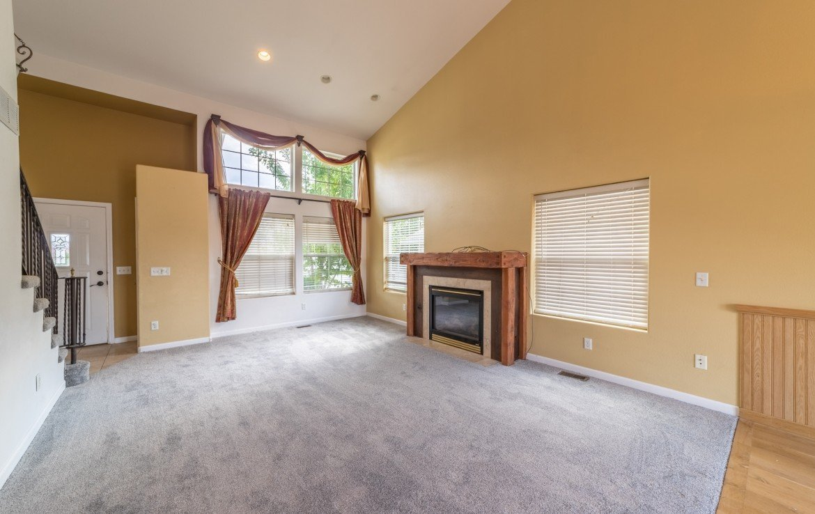 Living Room with Window Coverings - 2051 Cherry St Montrose, CO - Atha Team Real Estate Agents