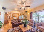 Living Room with Ceiling Fan - 3208 Silver Fox Dr Montrose CO 81401 - Atha Team at Keller Williams