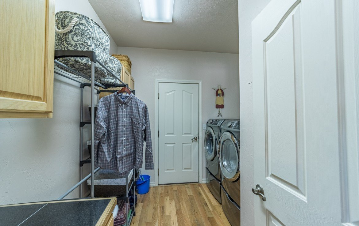 Laundry Room - 3208 Silver Fox Dr Montrose CO 81401 - Atha Team at Keller Williams