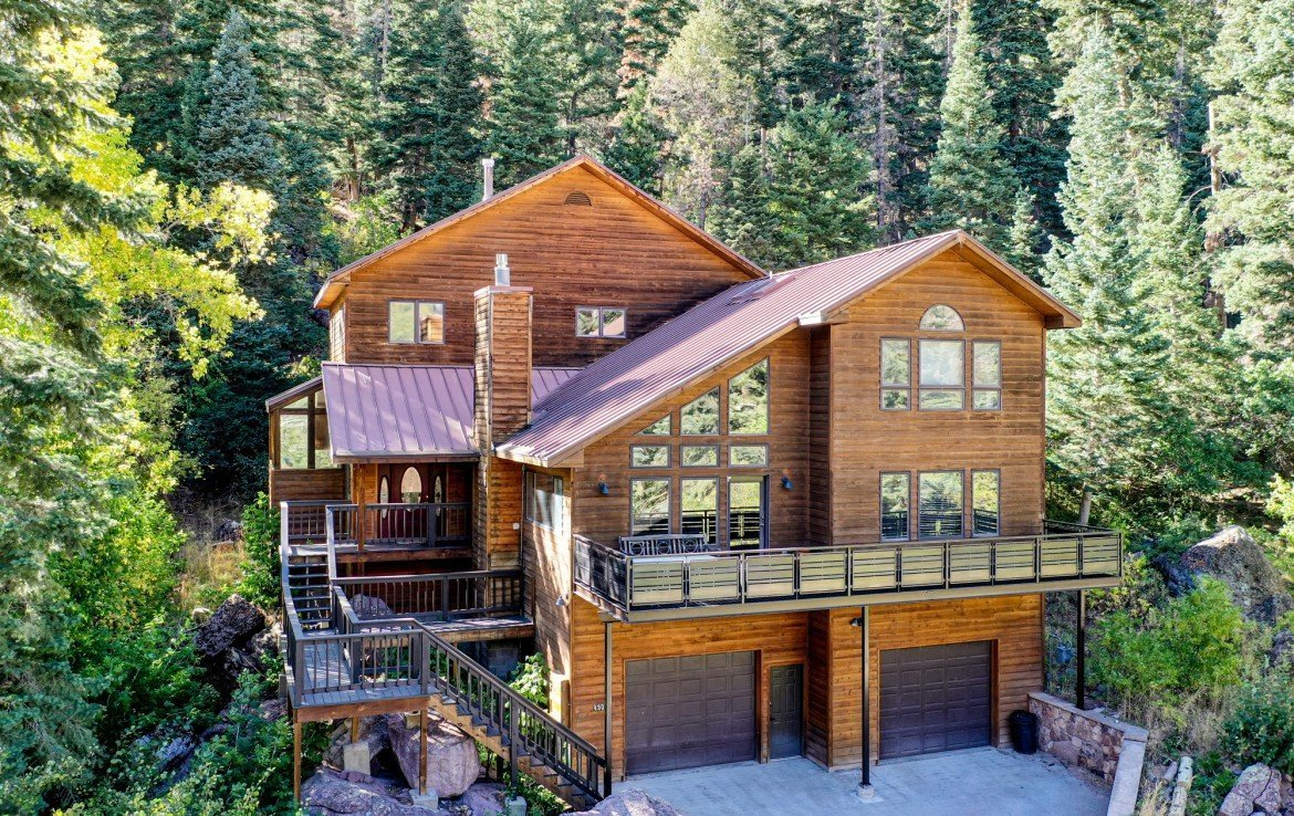 Multi-Level Mountain Property for Sale - 430 Pinecrest Dr Ouray, CO 81427 - Atha Team Realty