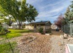 Landscaping in a Fenced Back Yard - 1717 Dover Rd Montrose, CO 81401 - Atha Team Real Estate for Sale
