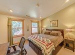 Bedroom with Wood Frame Windows - 181 S. Lena St #D Ridgway, CO 81432 - Atha Team Colorado Real Estate