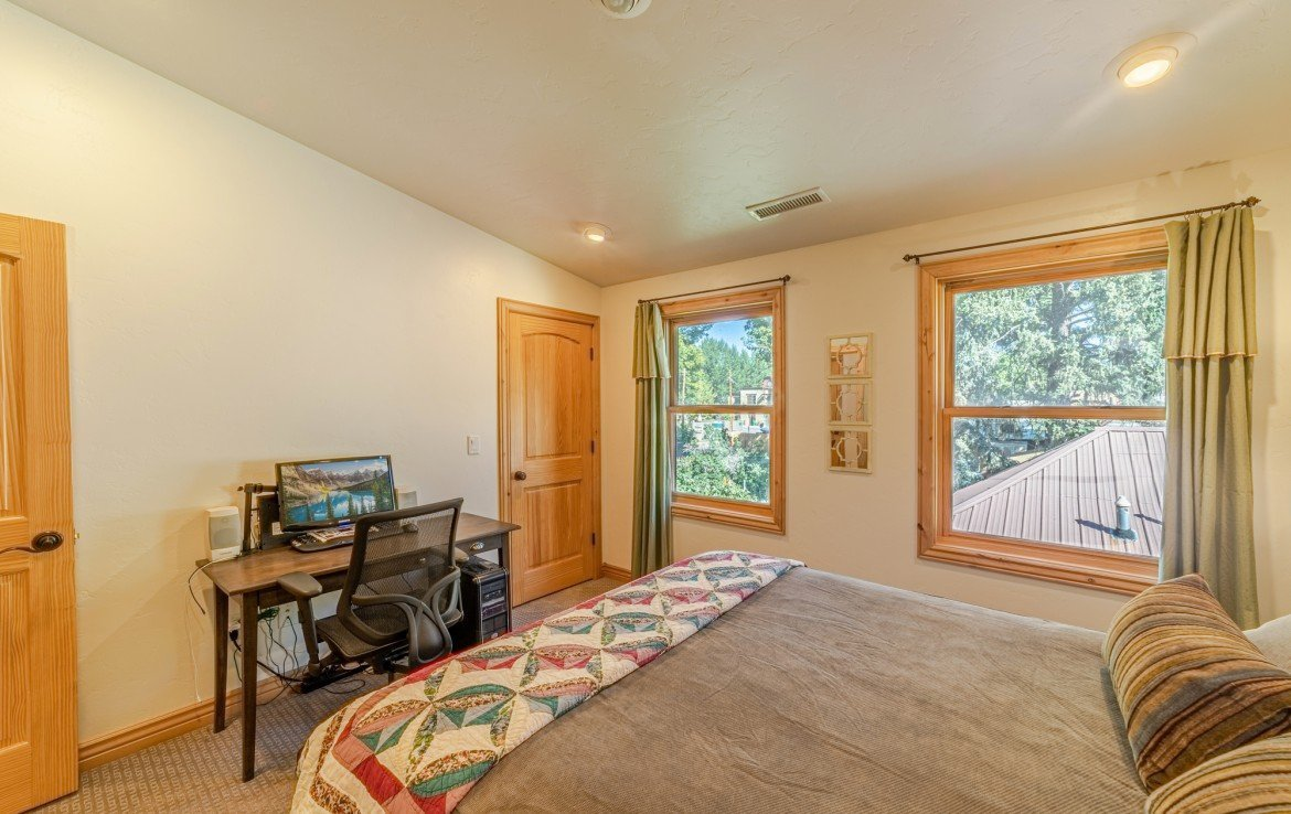 Bedroom with New Carpet - 181 S. Lena St #D Ridgway, CO 81432 - Atha Team Colorado Real Estate